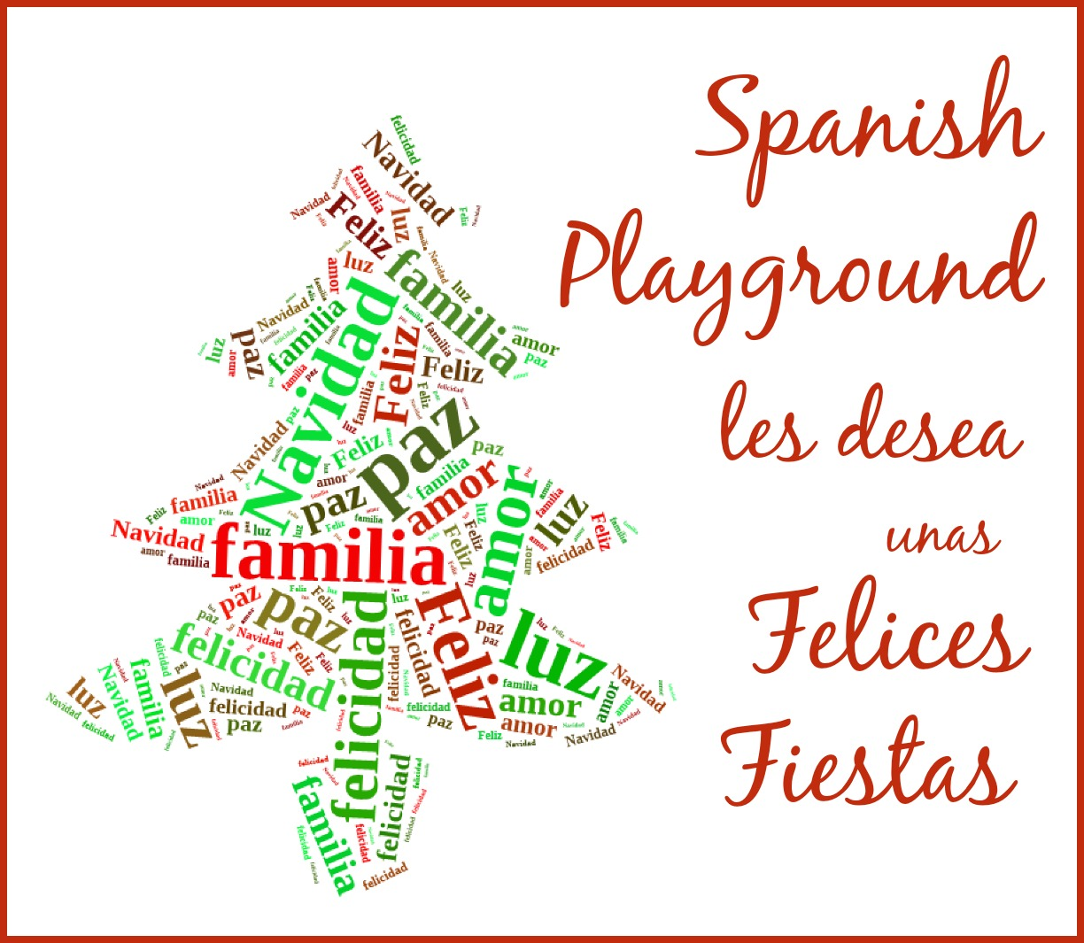 Wishing You Happy Holidays in Spanish - Spanish Playground