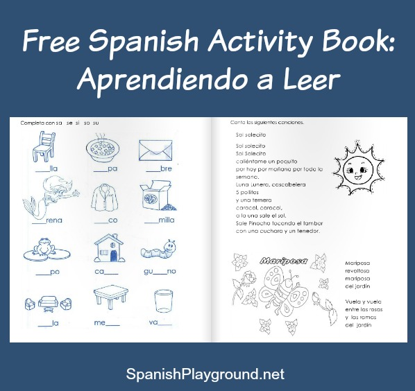 A Spanish workbook for early readers.