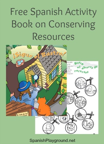 Free Spanish activity book from the EPA helps children learn to protect the planet.