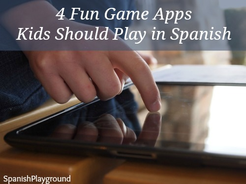 These fun game apps can also be played in Spanish.