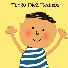 An easy Spanish book for kids.