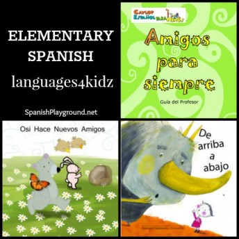 Elementary Spanish curriculum from Languages4Kidz includes lesson plans and picture books.