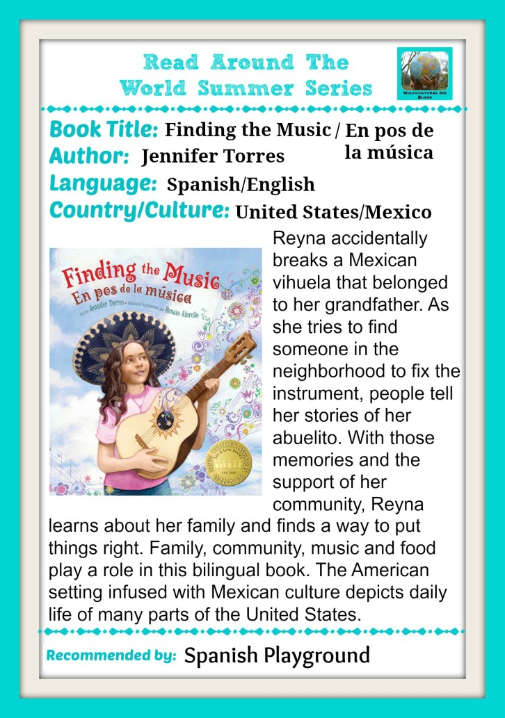 Children learn about cultures and countries through multicultural books for kids.