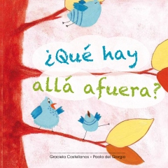 Spanish book for kids teaches basic information about bugs.