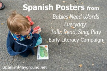Spanish nursery rhymes on free downloadable posters.