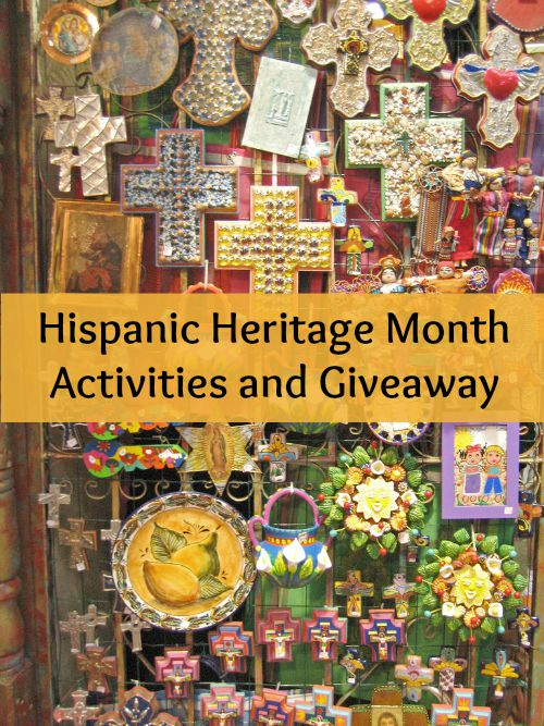 Hispanic heritage month activities for kids.