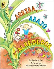 This Spanish language picture book about gardening has rich detailed illustrations.