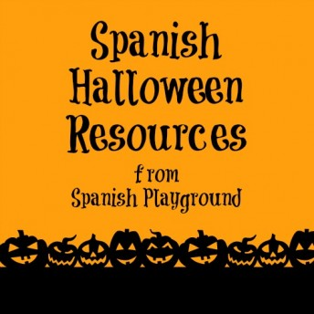 Spanish Halloween songs, books and activities for kids.