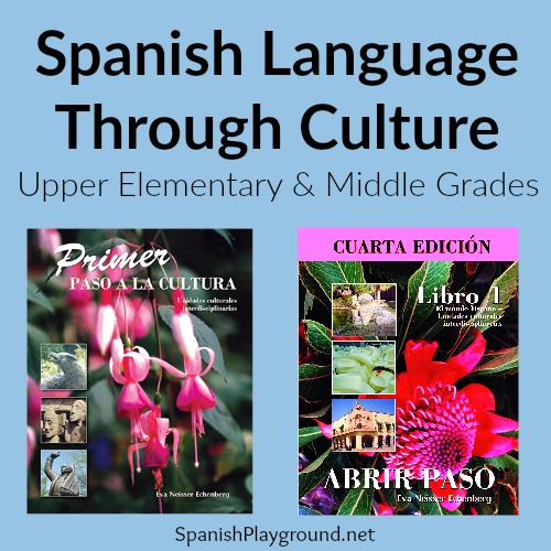 Students learn Spanish language and culture with these activities from Editorial Miraflores.