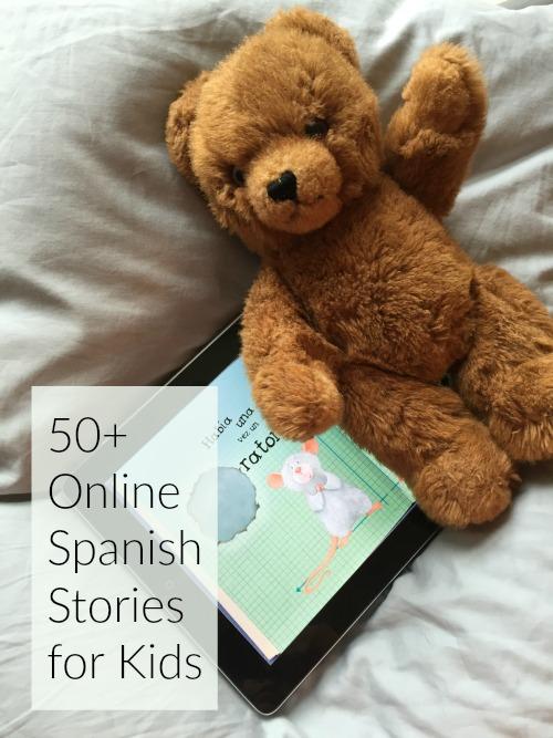 Online Spanish stories provide high-interest reading for kids anywhere.