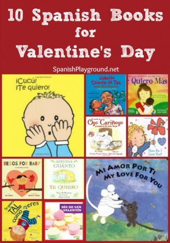 Spanish Valentine books teach children family vocabulary and expressions of affection as they celebrate the holiday.