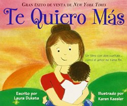 Kids learn family vocabulary from Spanish Valentine books.