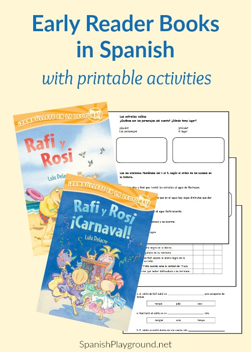 Spanish early reader books help children build vocabulary and reading skills.