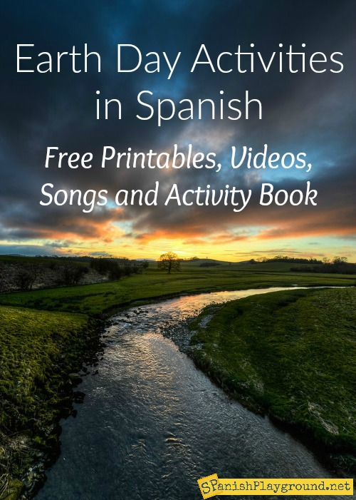 Use these Spanish Earth Day activities to learn vocabulary about the environment and planet.