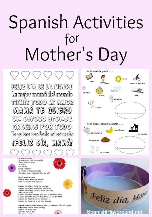 spanish mothers day activities