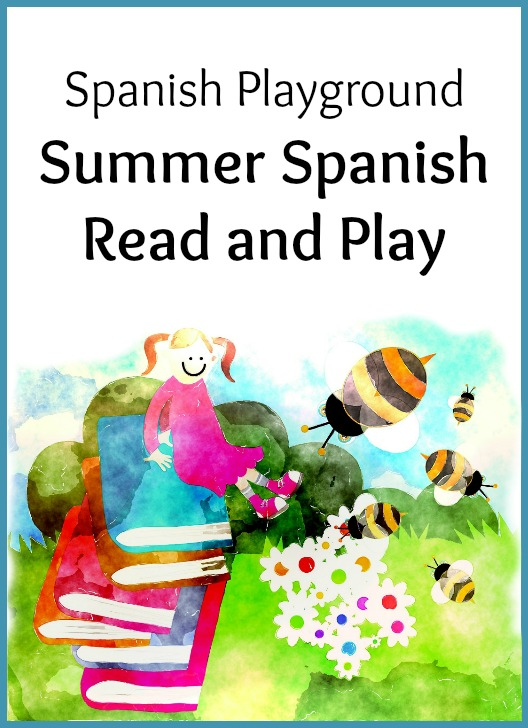 Summer reading program and Spanish activities for kids.