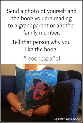 Read in Spanish and then share the story using these ideas.