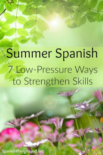 Summer Spanish can be an enjoyable way for kids to improve skills.