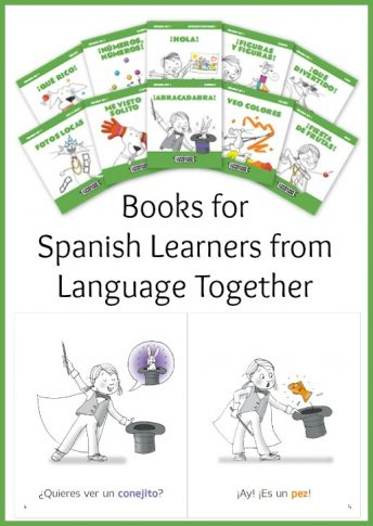 These books for Spanish learners create comprehensible input using colors.