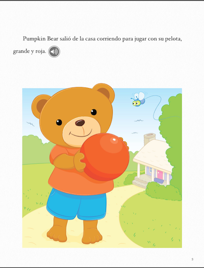 Free Spanish ibooks introduce children to other languages.