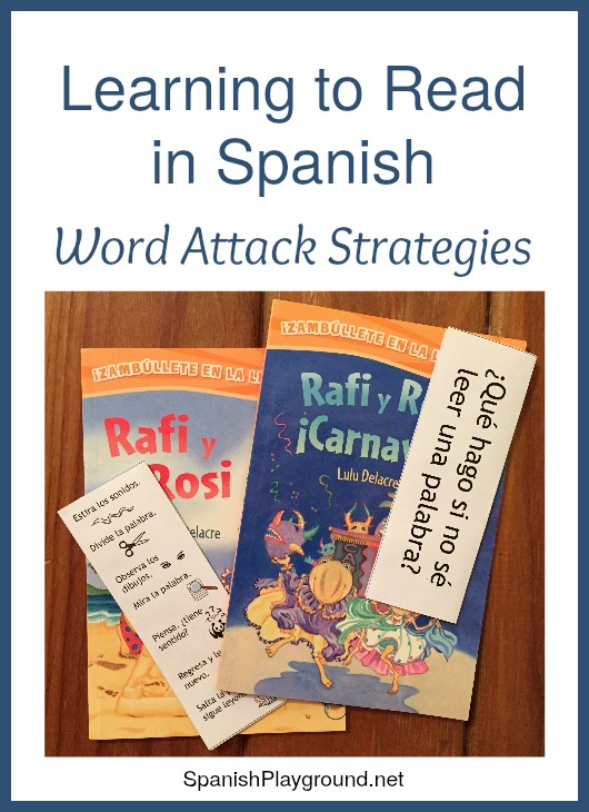 Parents can use these strategies to help children learning to read in Spanish.
