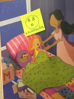 These Marisol and the Monster Spanish activities give kids practice with emotion words.