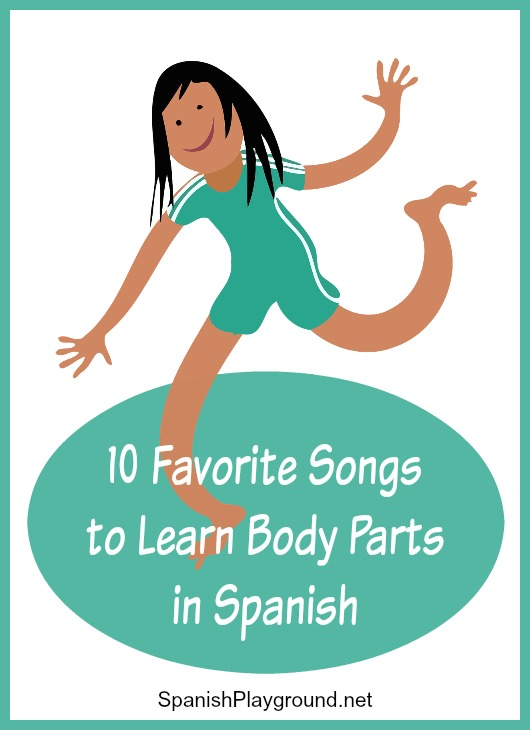 Kids learn important vocabulary with these Spanish body parts songs.