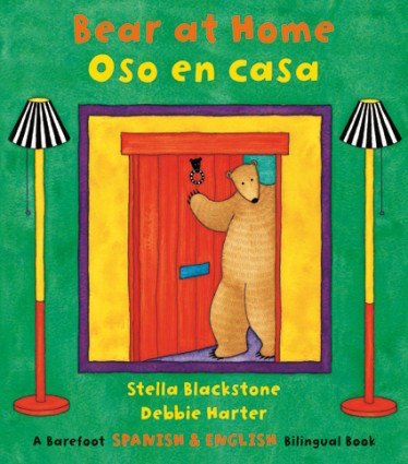 Oso en casa helps children learn Spanish house vocabulary in a delightful story.