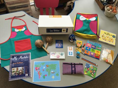 This Spanish subscription box has music, books, arts and crafts and lesson plans for teaching children Spanish.