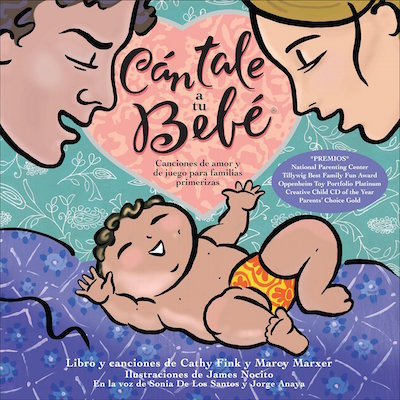 This beautiful collection of songs is one of the best new Spanish baby gifts of 2017.