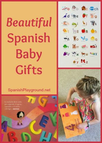 Spanish baby gifts such as music and books encourage language development and teach culture.