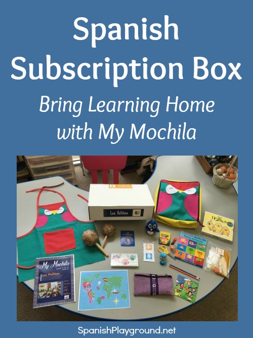 My Mochila is a Spanish subscription box with curated materials for teaching children Spanish.