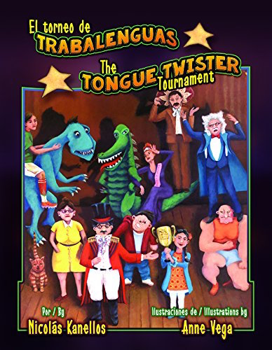 Tongue twisters in Spanishin a delightful picture book by Arte Publico Press.