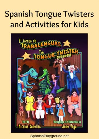 This picture book featuring tongue twisters in Spanish is an excellent resource for language learners.