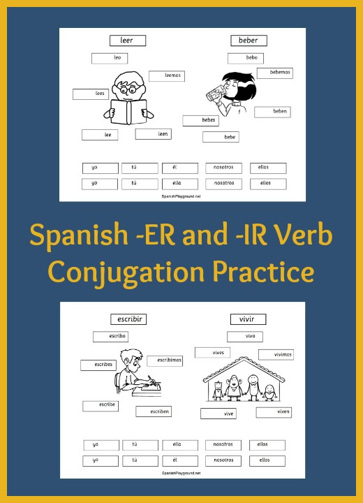 Spanish Verb Practice For Kids Cutandpaste Pages Playground. Spanish Verb Practice For Kids Cutandpaste Pages. Worksheet. Worksheet Spanish Verb Ir At Clickcart.co