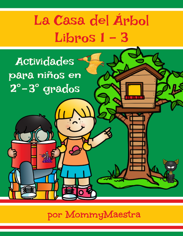 Spanish TpT stores have activities for bilingual families.