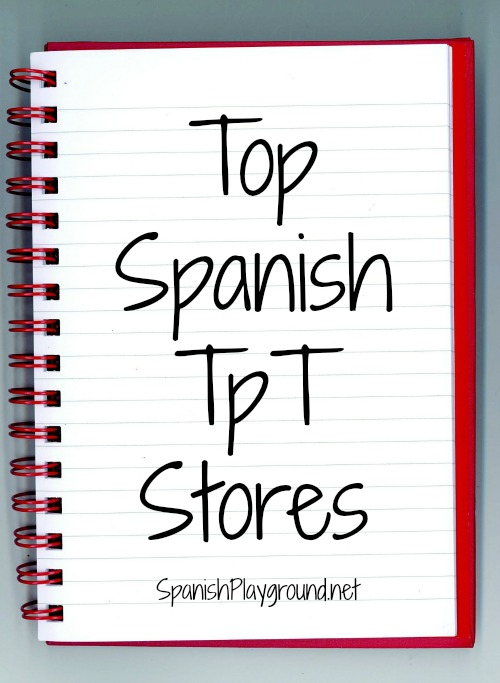 A list of top Spanish TpT stores with free activities from the teachers.
