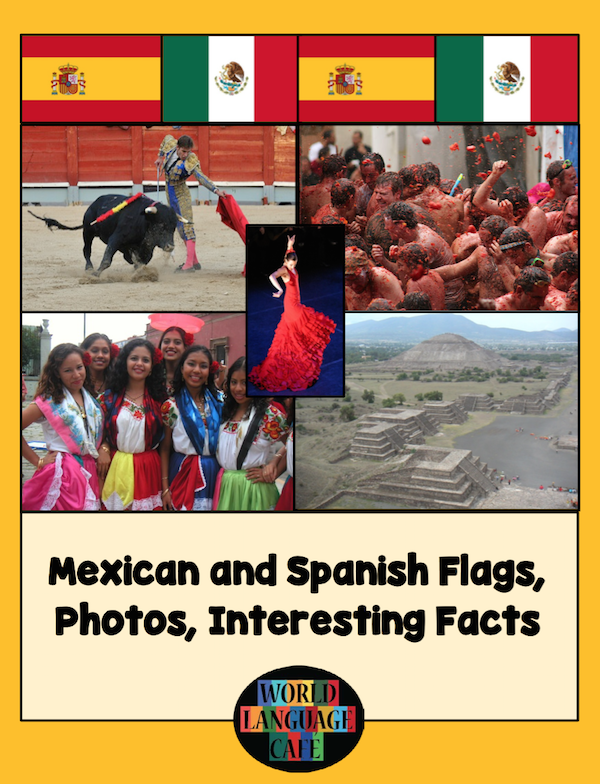Spanish TpT stores have resources to teach language and culture.