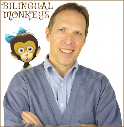 Adam Beck wrote the authoritative book on raising bilingual children.