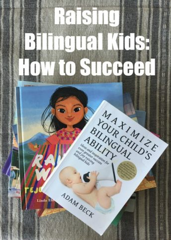 A book on raising bilingual children with how-to information and valuable perspective.