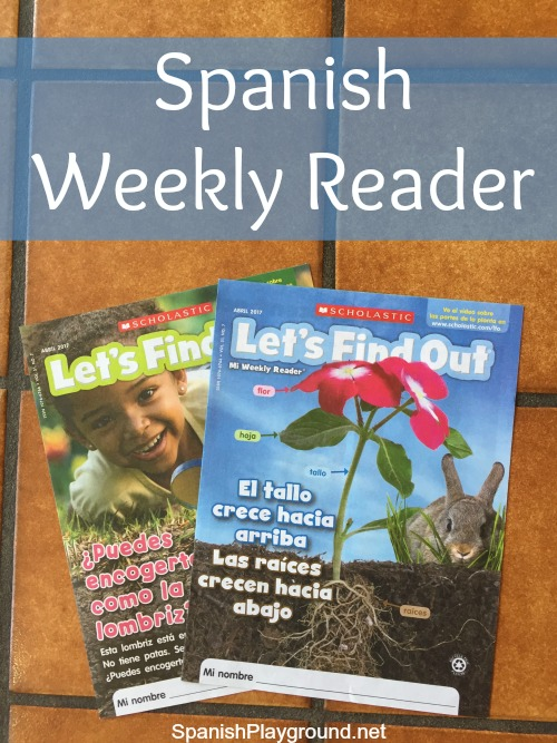 Scholastic's Spanish weekly reader has readings and activities for Spanish language learners.