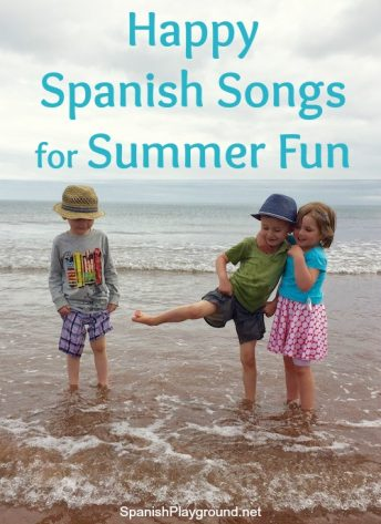 Happy Spanish songs from Lucky Diaz and the Family Jam band will please kids and adults.