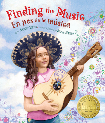 Latino picture books like Finding the Music by Jennifer Torres introduce children to culture and traditions.