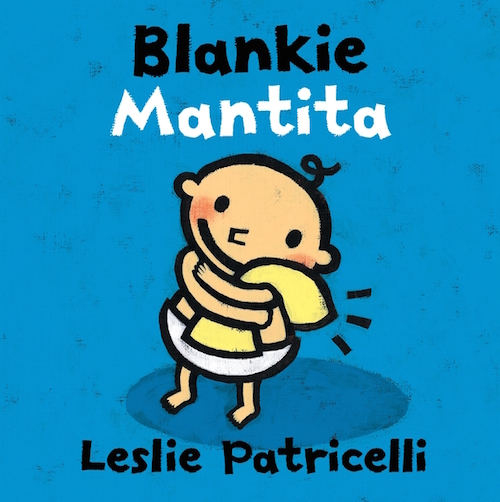 Kids learn Spanish words from bilingual board books by Leslie Patricelli.