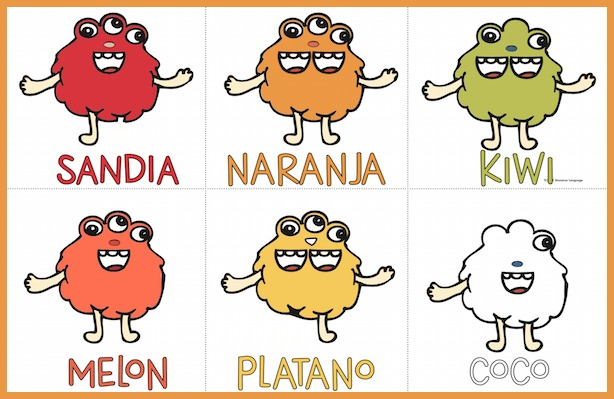 Kids practice vocabulary and asking questions with this printable Spanish body parts game.
