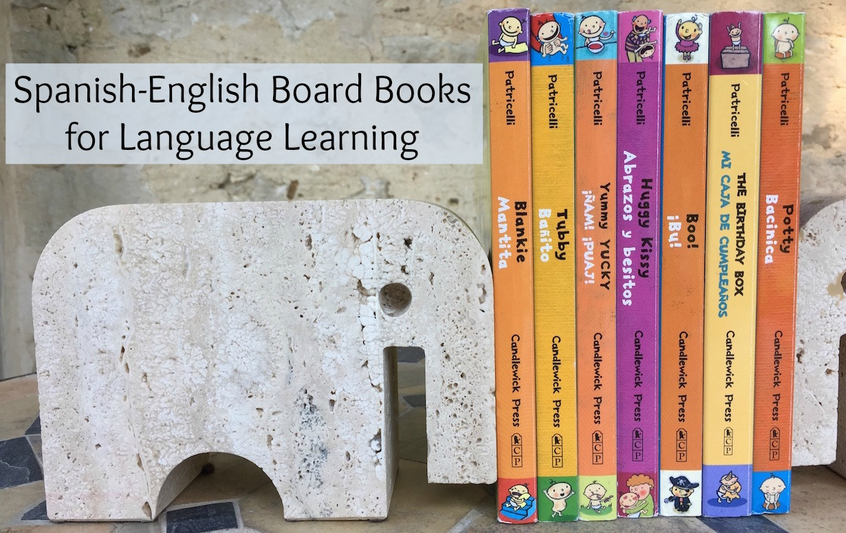 Spanish-English Board Books for Language Learners ...