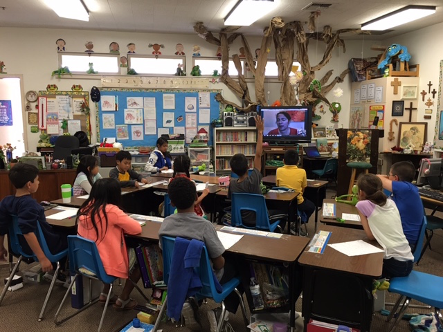 Mariana Llanos is available as a Skype guest speaker for Spanish class and immersion programs.