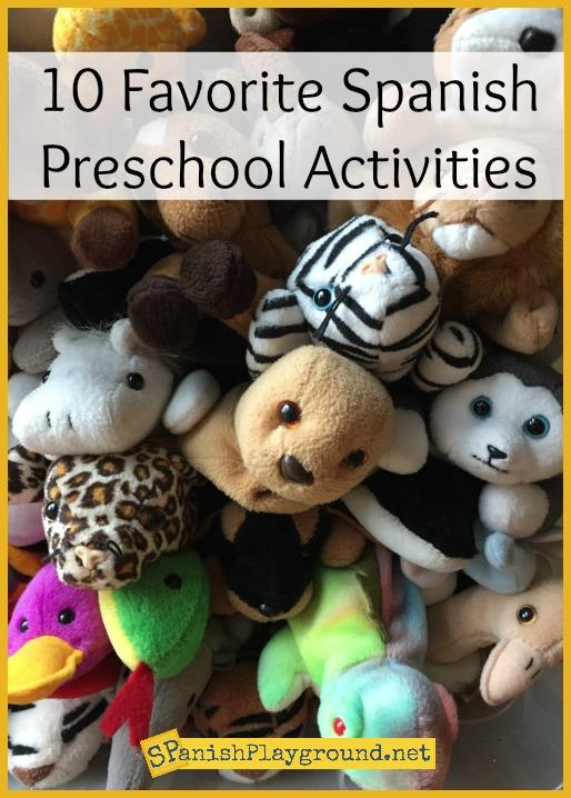 Spanish Preschool Activities - Spanish Playground