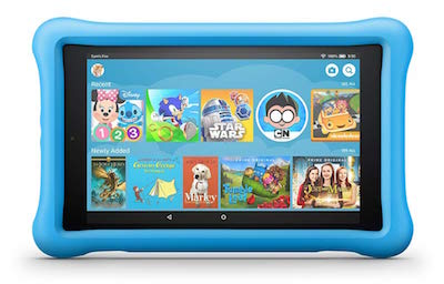 The Amazon Fire makes an excellent Spanish gift for kids.