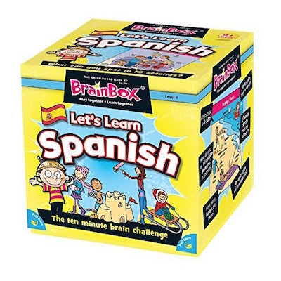 Brainbox Let's Learn Spanish is a great Spanish gift for kids.
